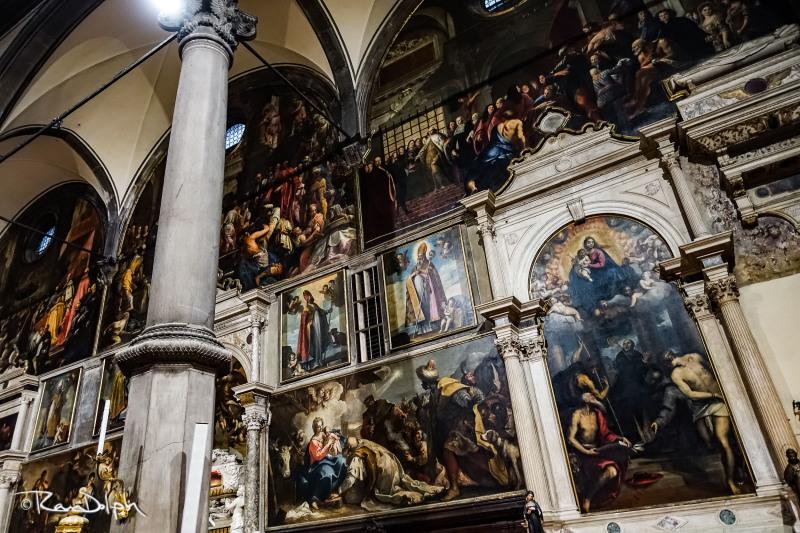 Church of San Zaccaria, Venice: Interior