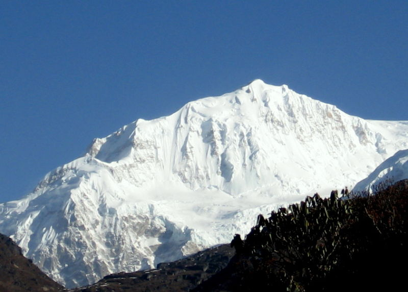 Up close and Personal with Kanchenjunga