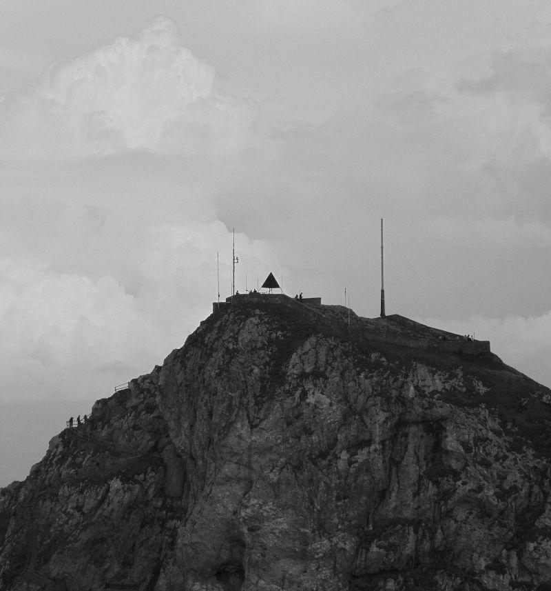 Top of Mount Pilatus