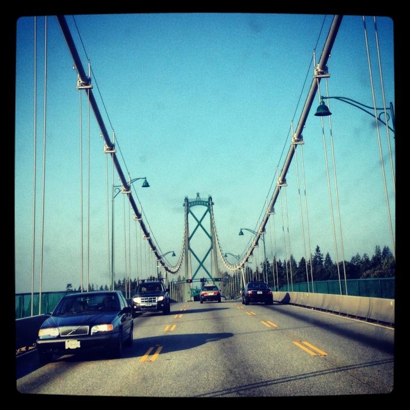 Lions Gate Bridge in Vancouver, BC
