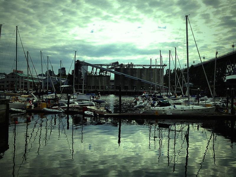Docks accross from Granville Island
