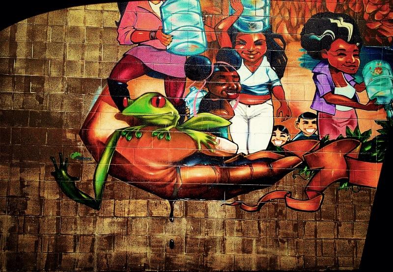 helping hands mural