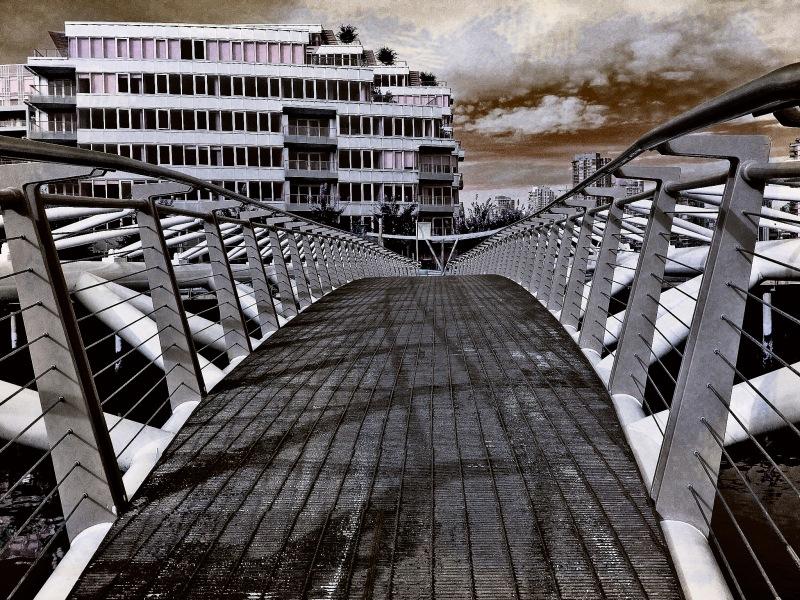 olympic village bridge
