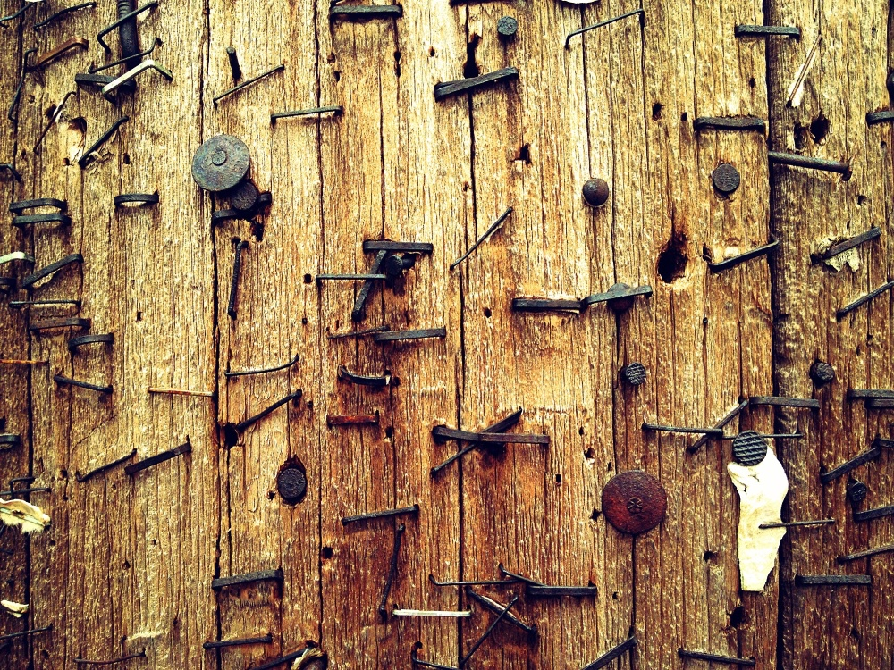 Telephone pole detail
