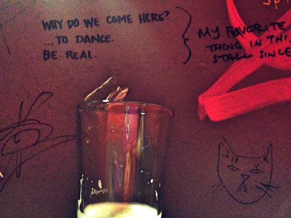 Biltmore bathroom wisdom