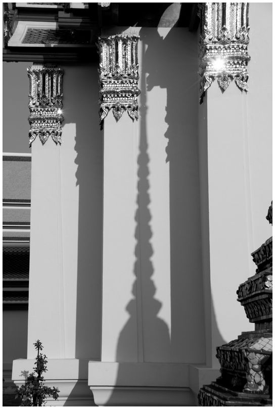 Shadow of Stupa