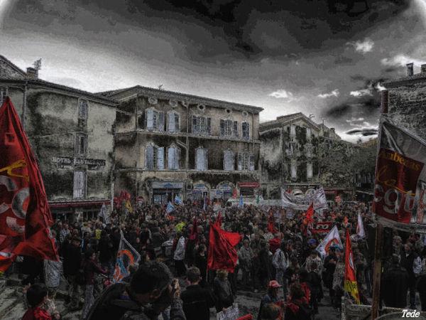 La manifestation