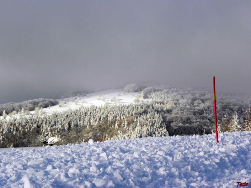 Neige en Ardèche