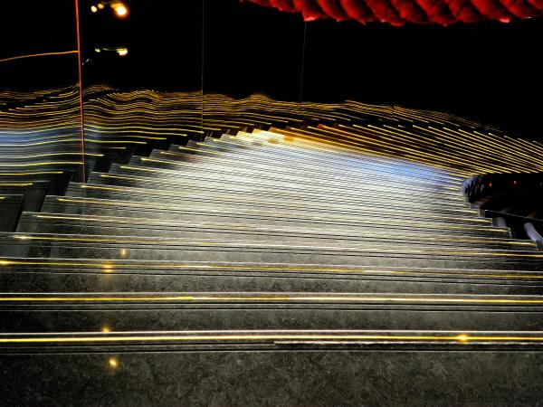 Les escaliers de l'opéra de Lyon