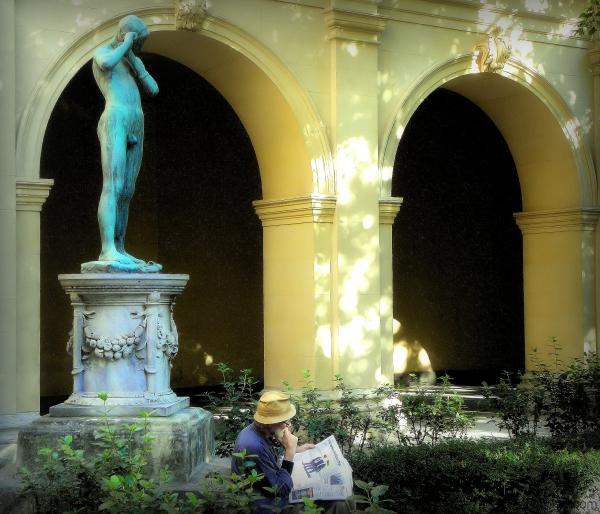 Jardin du musée des beaux-arts de Lyon