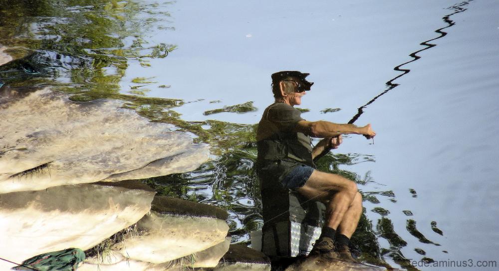 Reflet de pêcheur