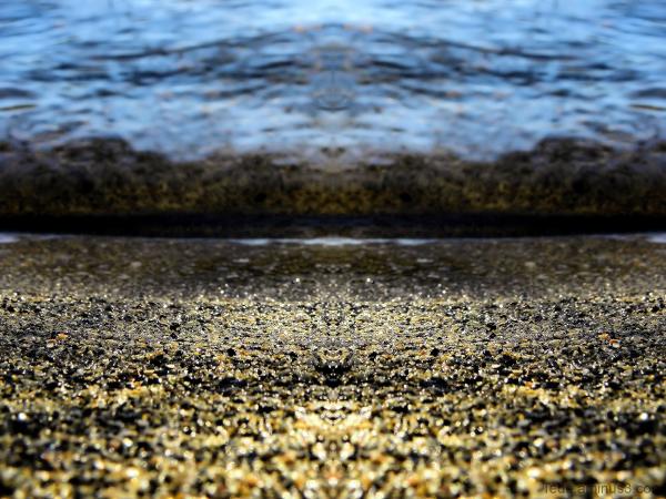 La rivière et le sable