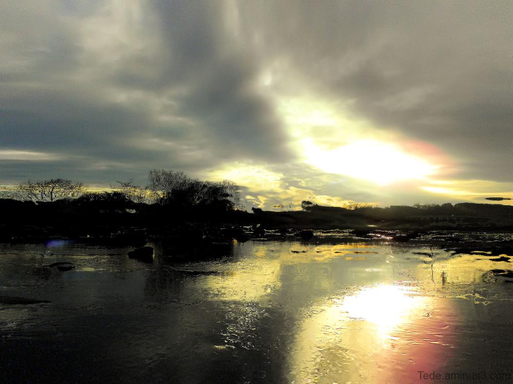 La rivière gelée