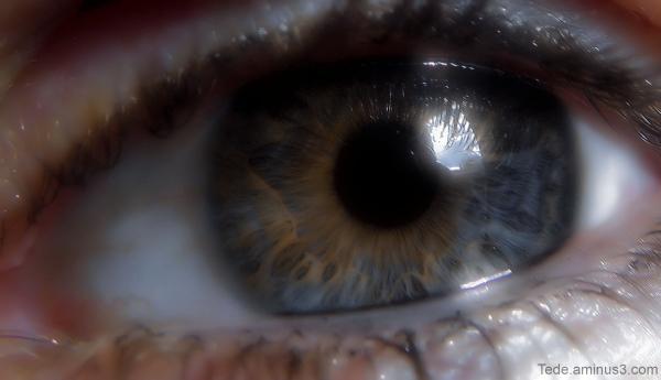 Reflet dans un oeil