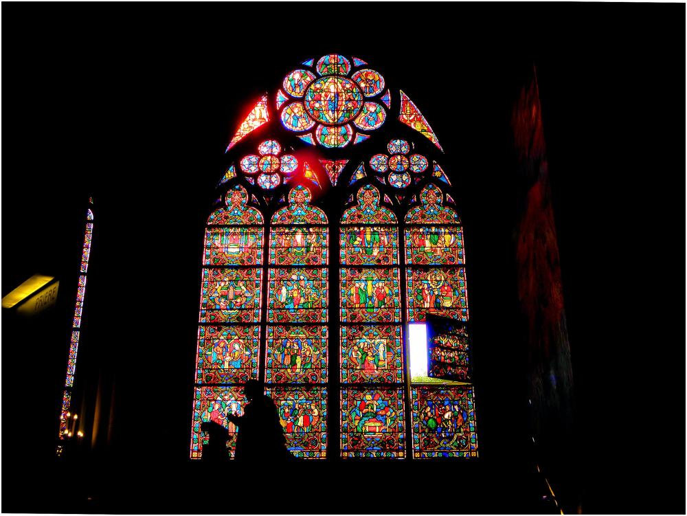 Vitraux Notre-Dame Paris