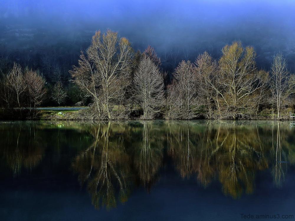 Reflets du paysage
