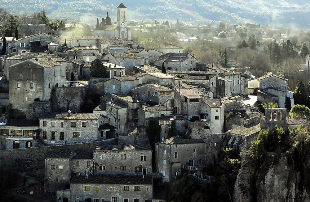 Balazuc village d'Ardèche