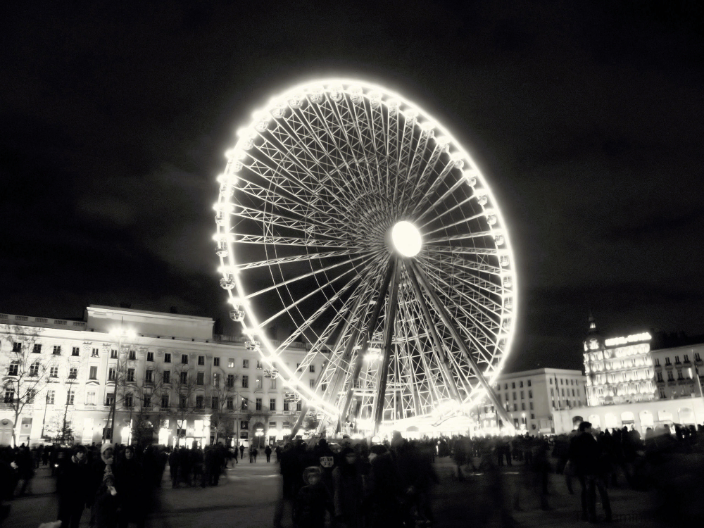 Grande roue à Lyon