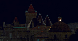 Nuit  sur  le  château...