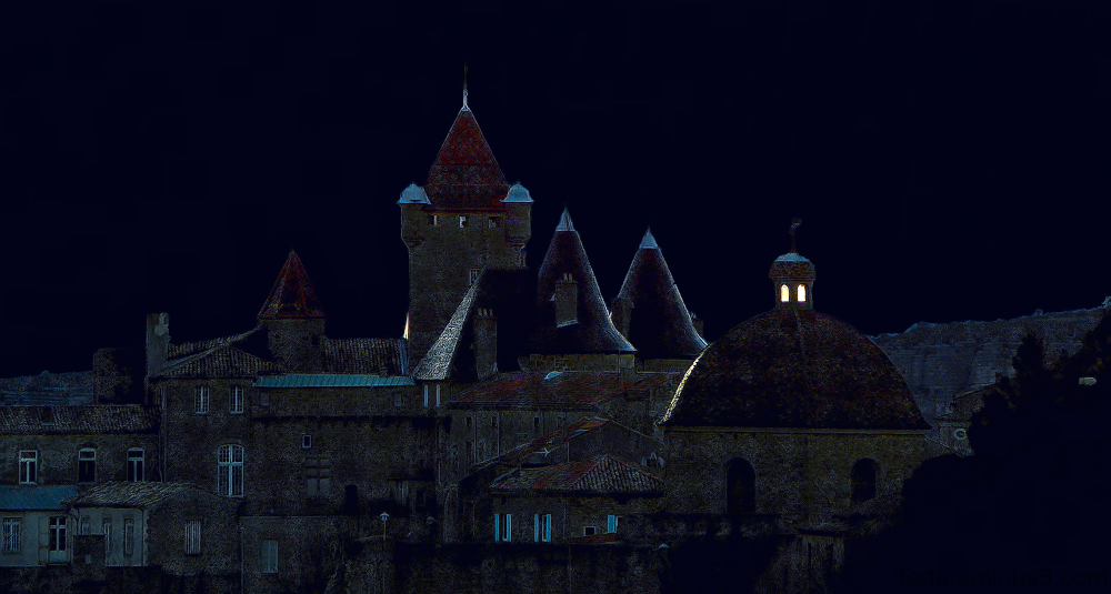 Nuit sur le château