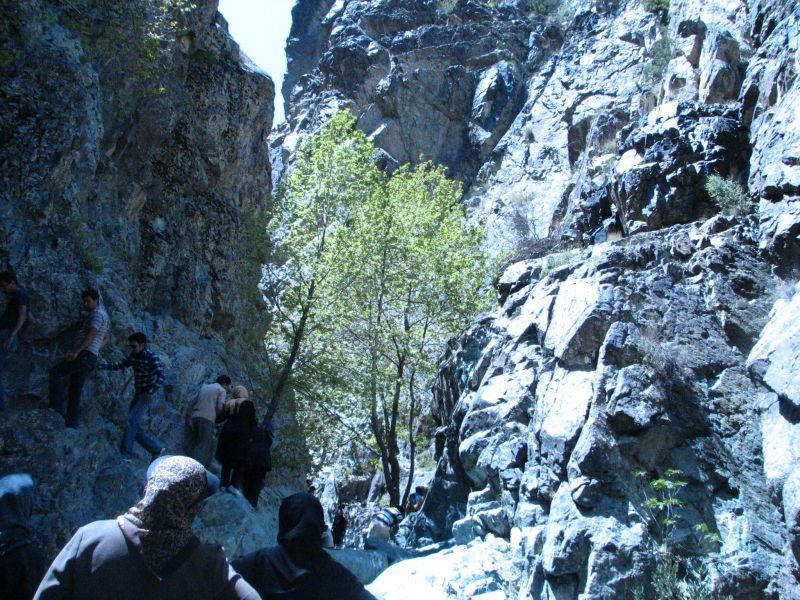 Dalfard Falls