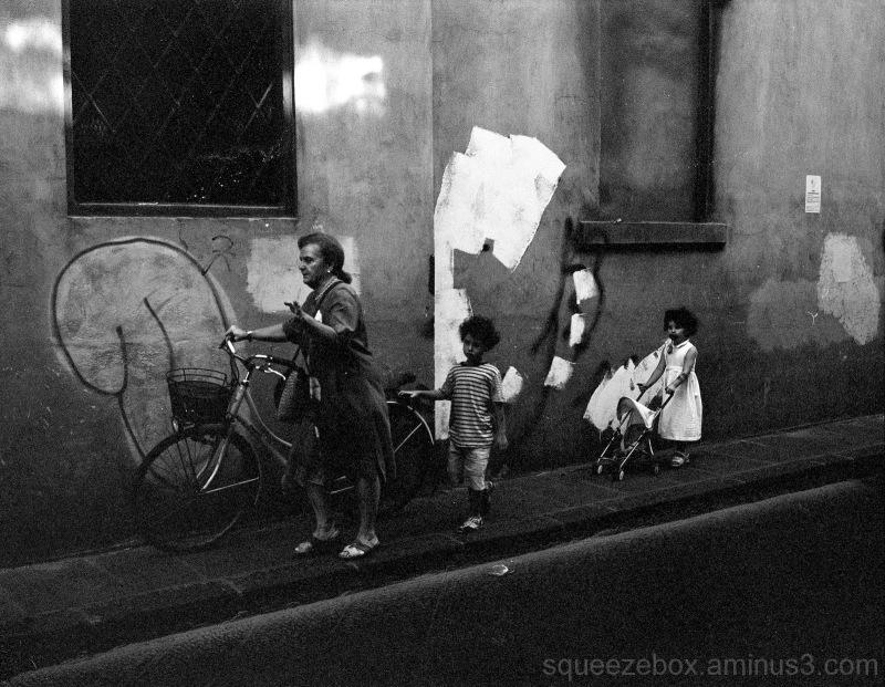 A Sidewalk Serenade