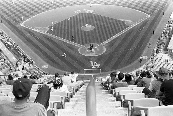 Nosebleeds at Dodger Stadium