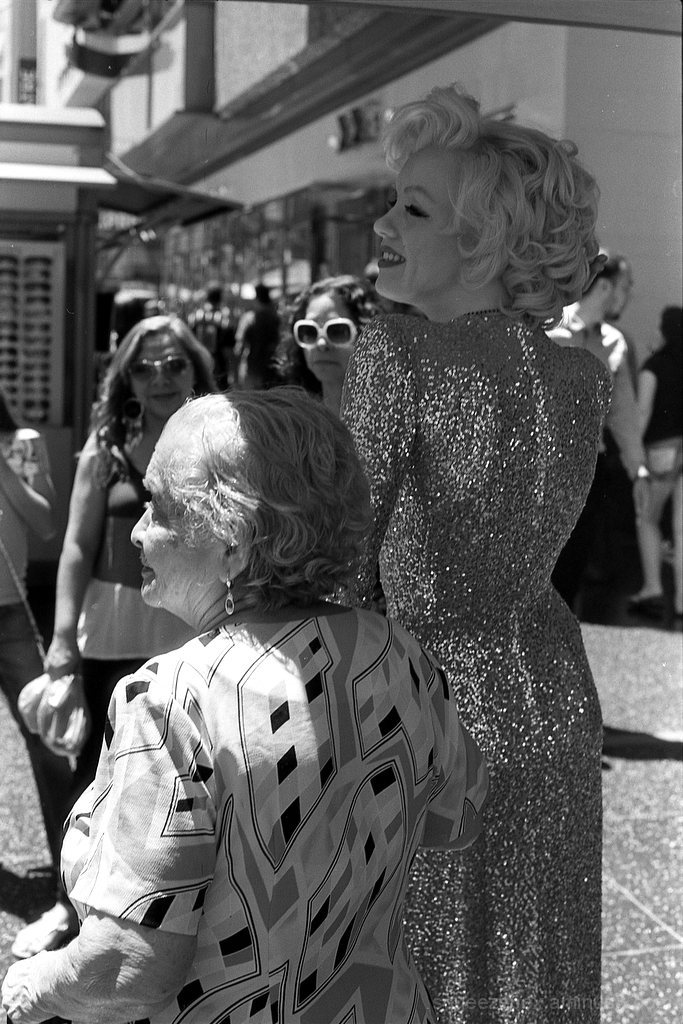 Marilyn and Mom