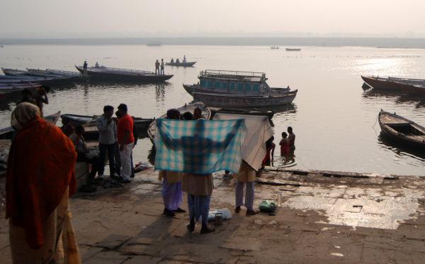 morning in Varanasi