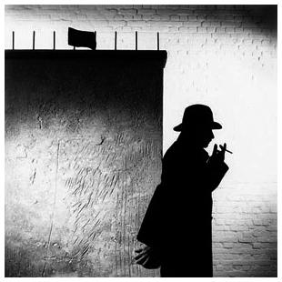 Jaak,silhouette,black/white
