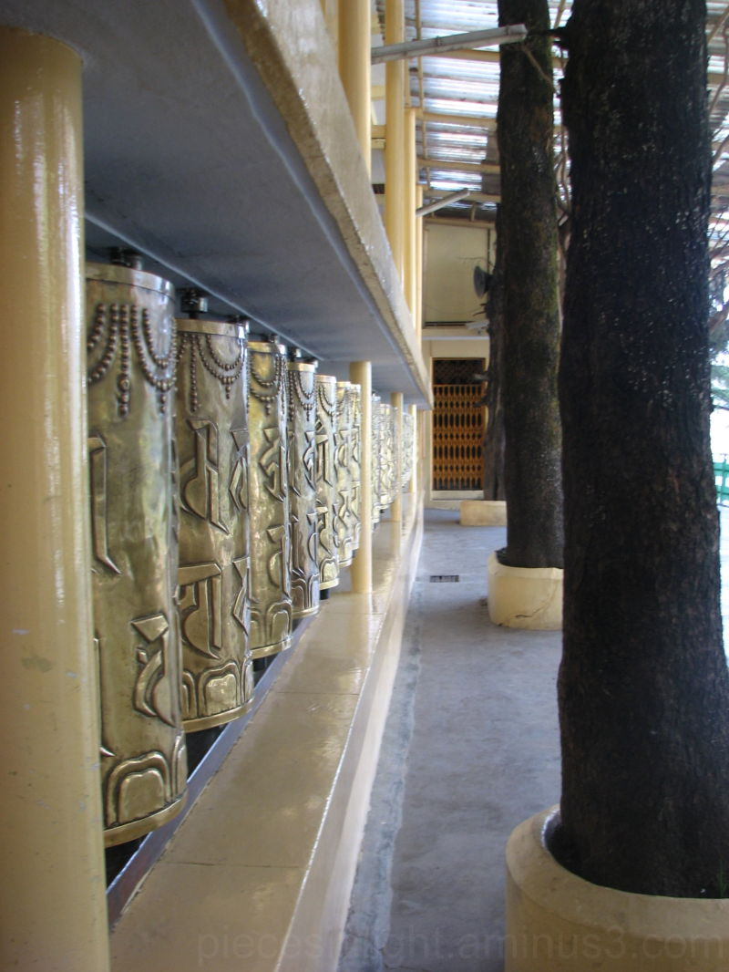 Prayer Wheels, 'Tsuglagkhang Temple', Mcleod Ganj