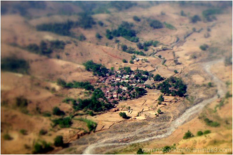 the tiny village