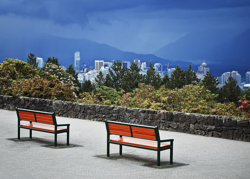 Lookout Over Downtown Vancouver, BC