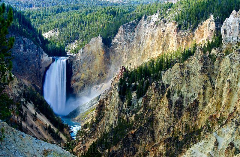 Yellowstone Falls 1