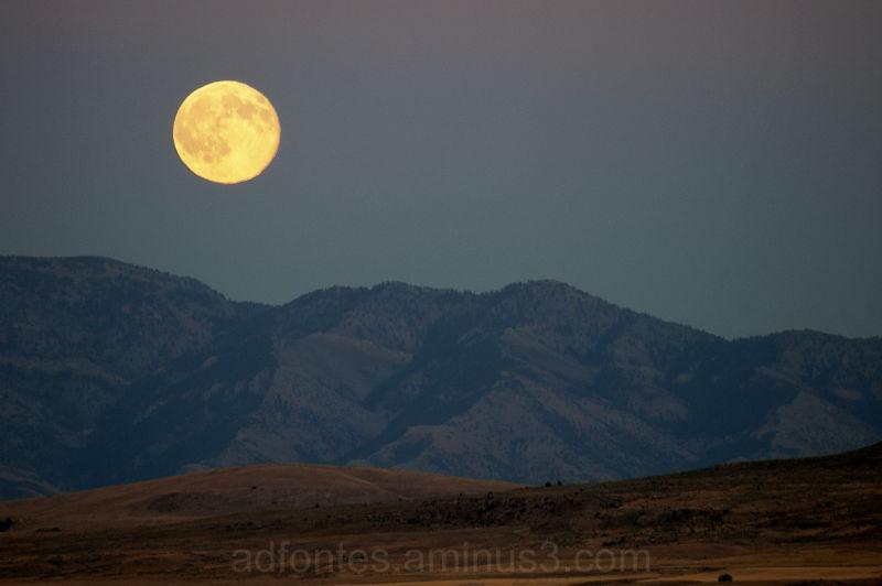 Idaho Harvest Moon September 23, 2010