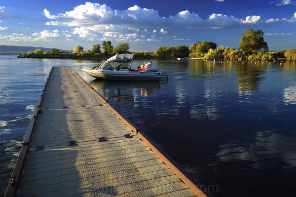 Boat & Dock Sportsman's Park, American Falls Idaho