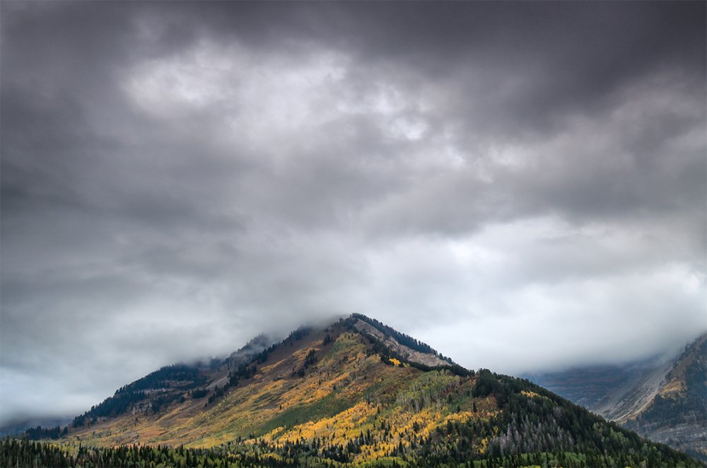 Stormy Autumn Peak