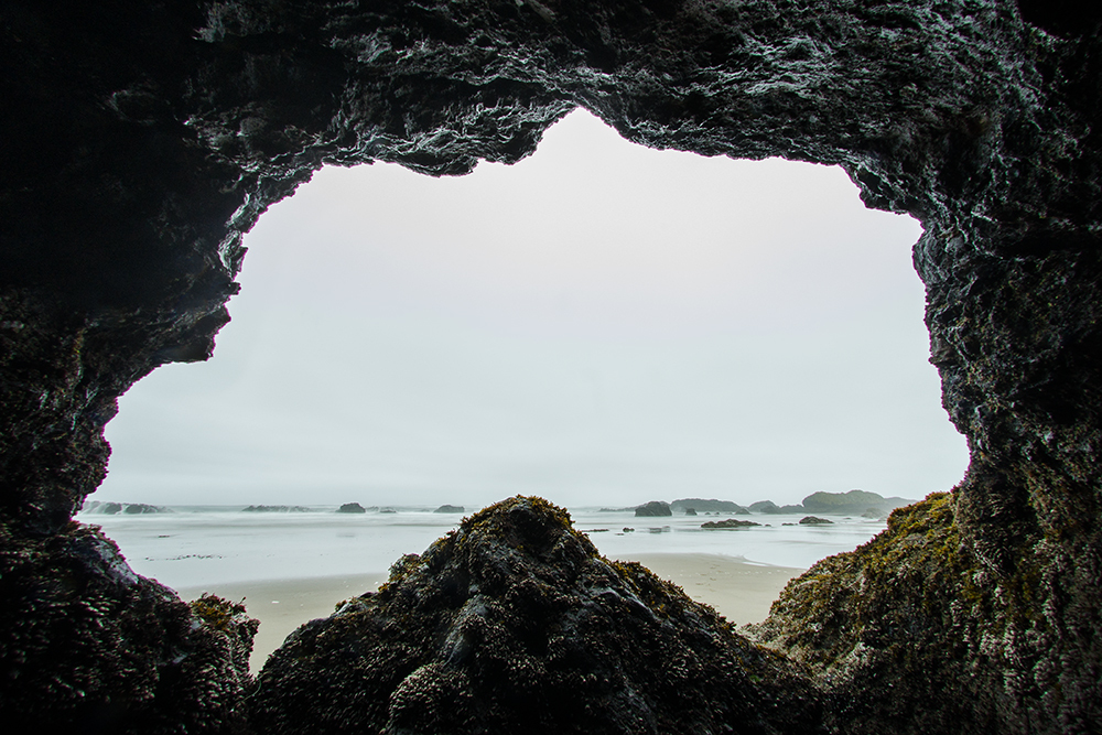 Small Sea Cave on the Oregon Coast