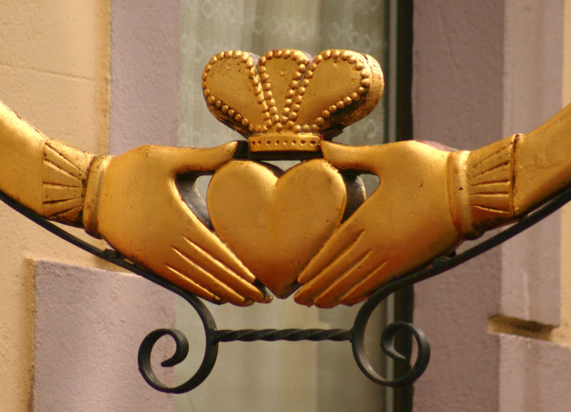 The Claddagh Ring Symbol Of Love In Galway Art Design Photos