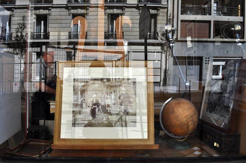 window pane in Paris