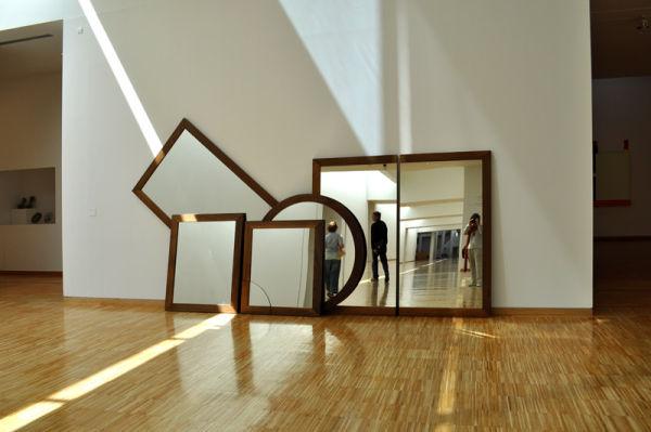 salle musée Grenoble avec miroirs