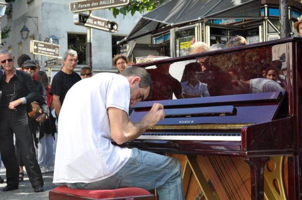 concert de rue Beaubourg Paris