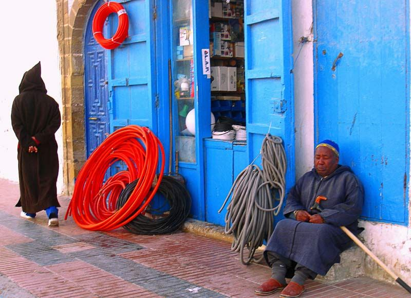 Maroc Essaouira rues