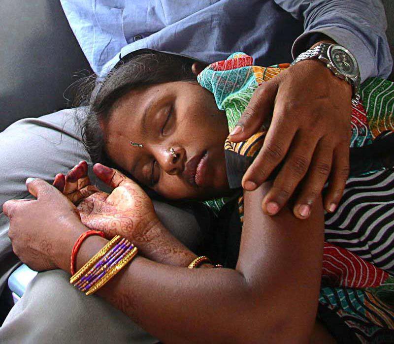 couple  train India
