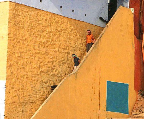 India  varanassi  colors