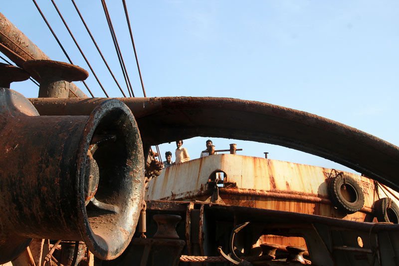 Boat and rust