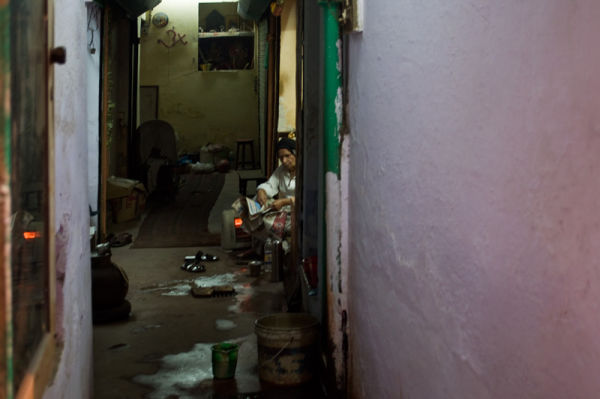 small lane in Old Delhi