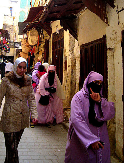 Morocco Fes  tradition and photos