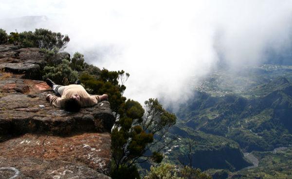 Réunion meditation  montagne