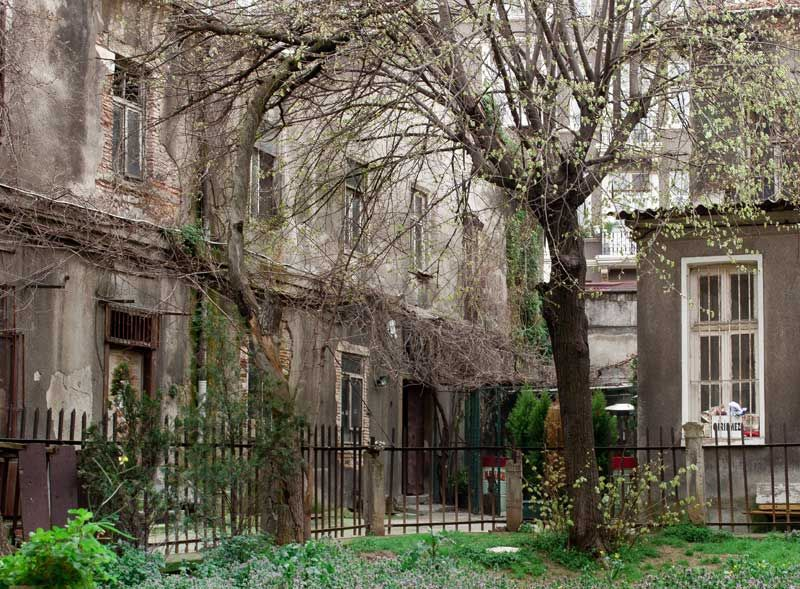 An old house in Istanbul
